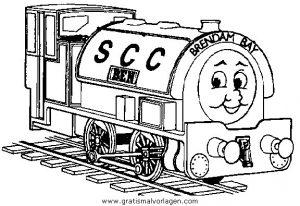 Zuge 06 Gratis Malvorlage In Transportmittel Züge Ausmalen