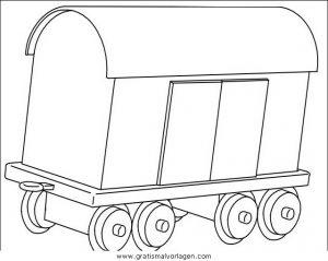 Zuge 21 Gratis Malvorlage In Transportmittel Züge Ausmalen