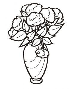 Malvorlage Blumen Blumen_00247