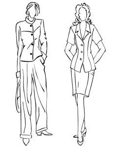 Malvorlage Modedesign Modedesign_00166