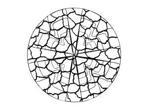 Malvorlage Mosaik Mosaik_00044
