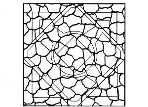 Malvorlage Mosaik Mosaik_00091