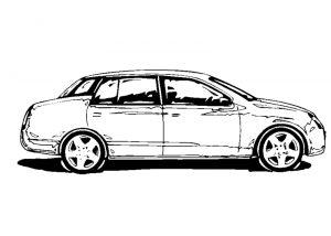Malvorlage Autos Autos_00474