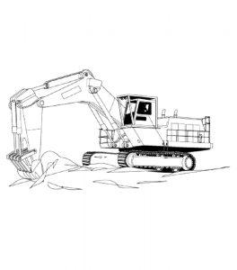 Malvorlage Baustelle Baustelle_00543