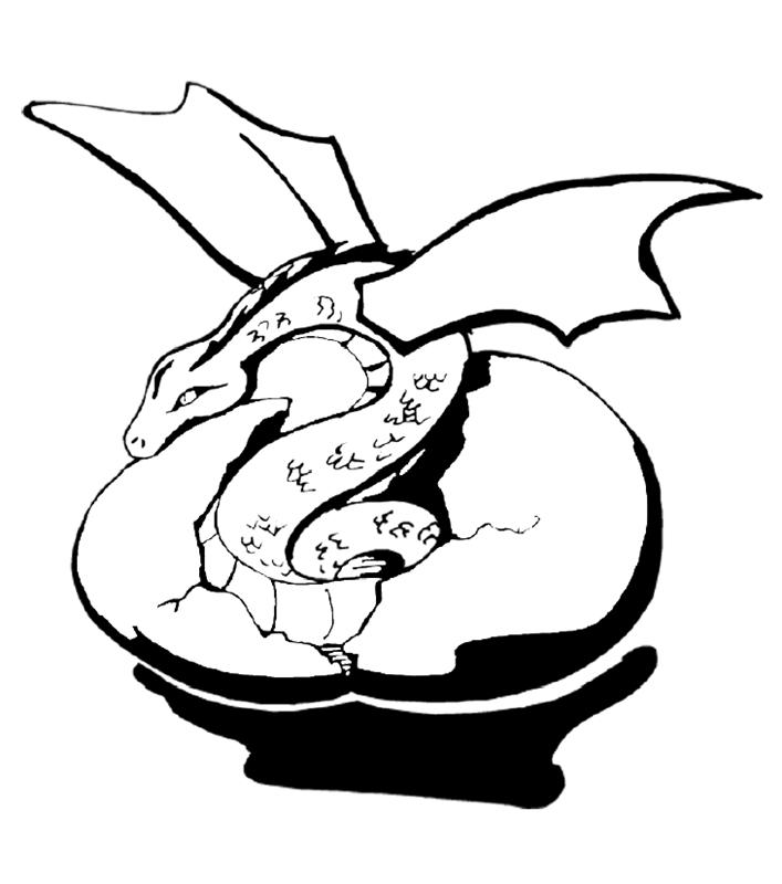 drachen00307 gratis malvorlage in drachen tiere  ausmalen