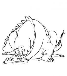 Malvorlage Drachen Drachen_00317