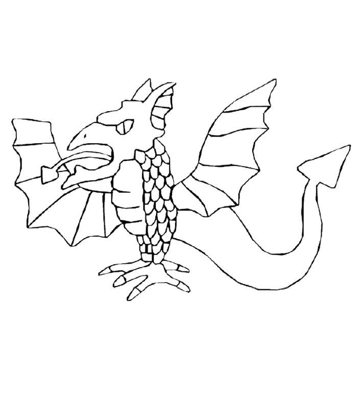 drachen00334 gratis malvorlage in drachen tiere  ausmalen