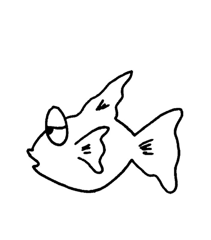 fische00224 gratis malvorlage in fische tiere  ausmalen