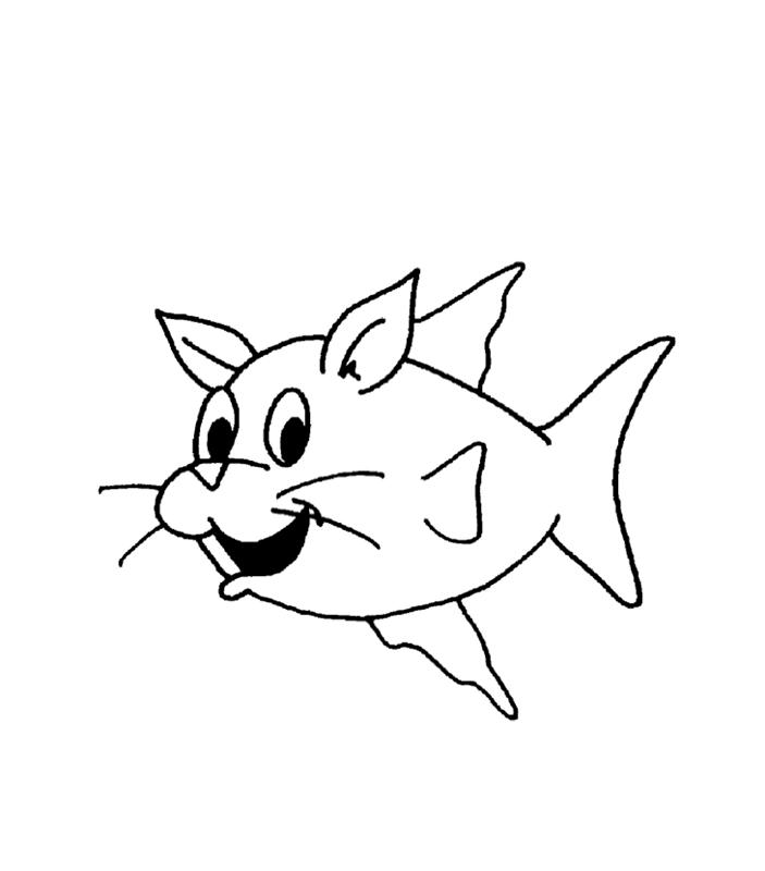 fische00229 gratis malvorlage in fische tiere  ausmalen
