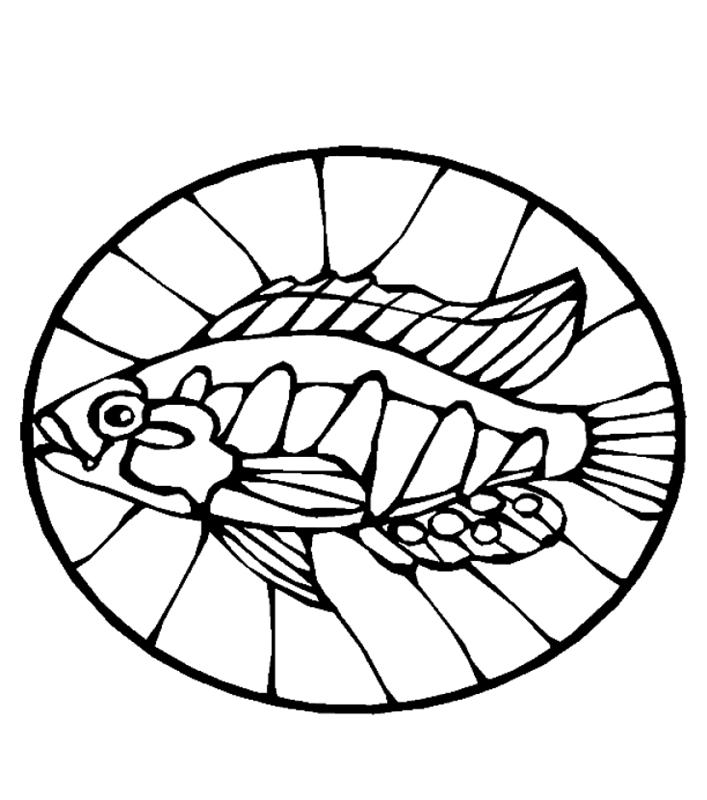 fische00246 gratis malvorlage in fische tiere  ausmalen