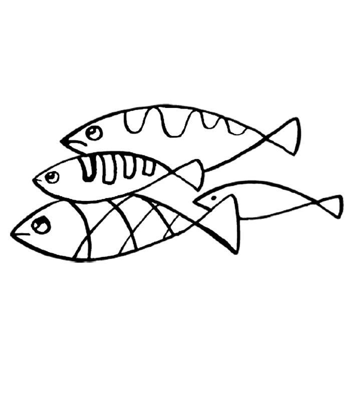 fische00267 gratis malvorlage in fische tiere  ausmalen