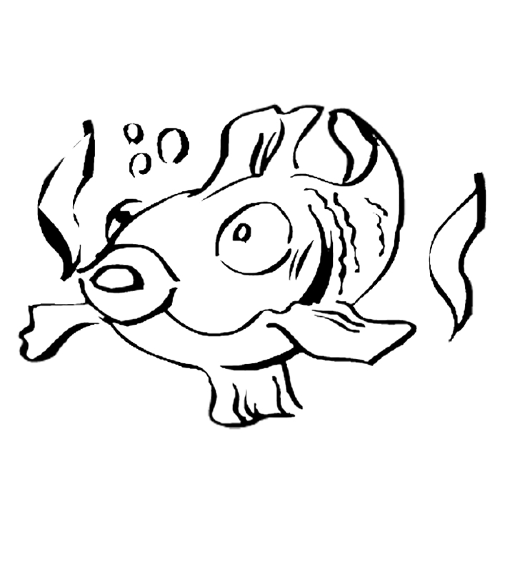 fische00282 gratis malvorlage in fische tiere  ausmalen