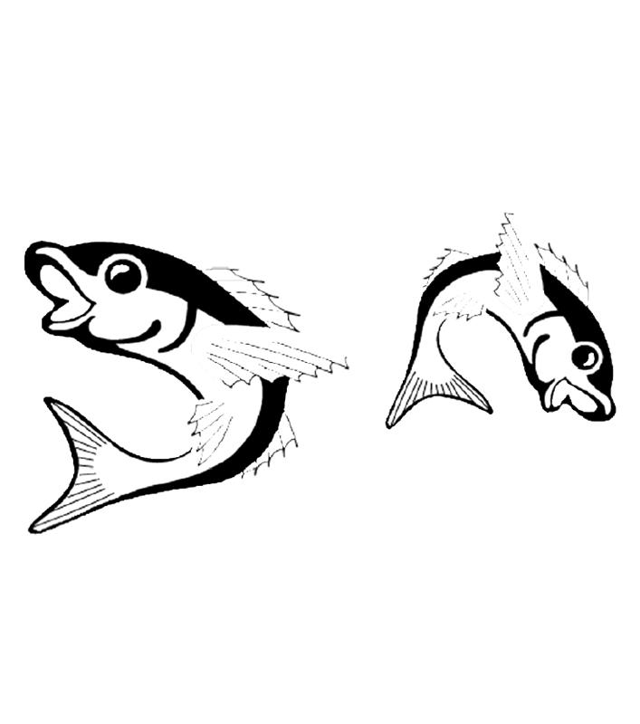 fische00288 gratis malvorlage in fische tiere  ausmalen