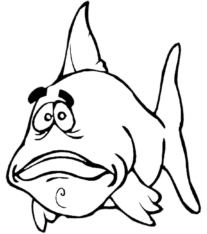 fische00292 gratis malvorlage in fische tiere  ausmalen