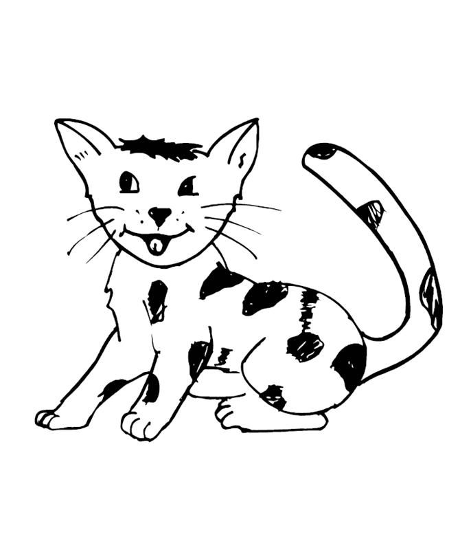 katzen00612 gratis malvorlage in katzen tiere  ausmalen