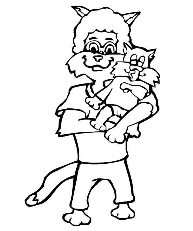 katzen00640 gratis malvorlage in katzen tiere  ausmalen