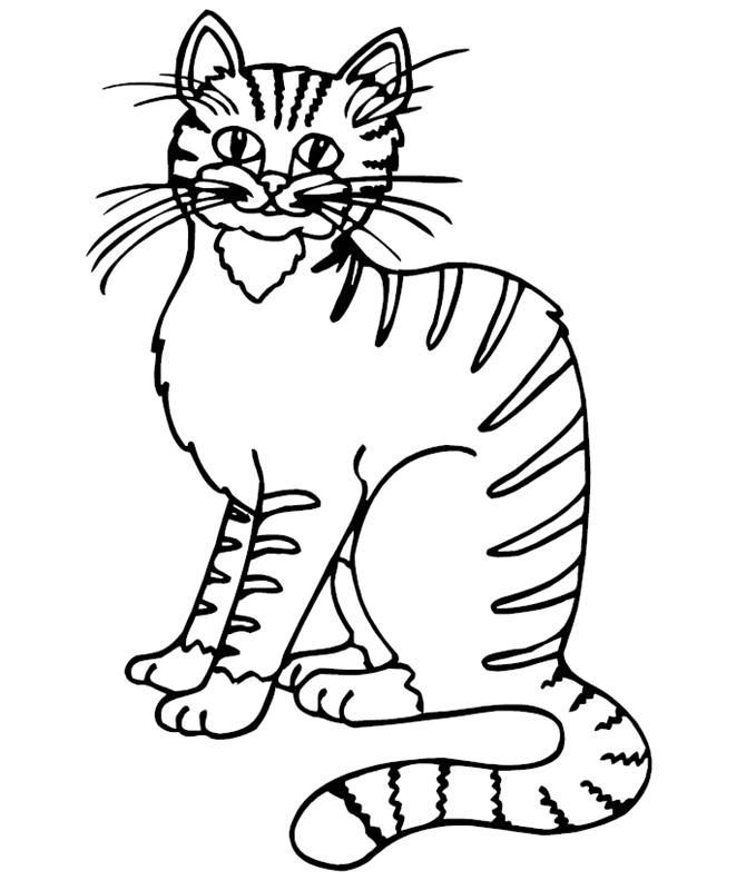 katzen00687 gratis malvorlage in katzen tiere  ausmalen