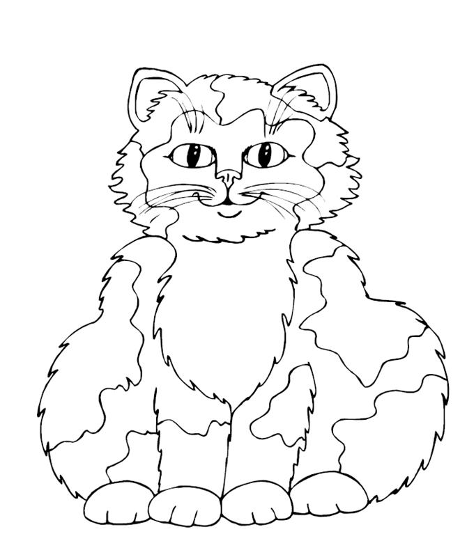 katzen00695 gratis malvorlage in katzen tiere  ausmalen