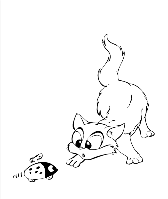 katzen00697 gratis malvorlage in katzen tiere  ausmalen
