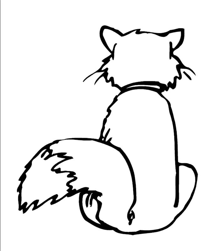 katzen00742 gratis malvorlage in katzen tiere  ausmalen