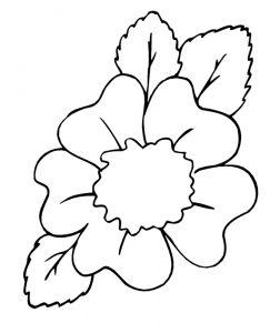 Malvorlage Blumen Blumen_00085