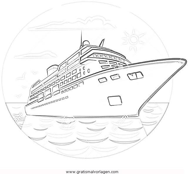 kreuzfahrtschiff1 gratis malvorlage in schiffe