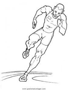 Laufen Gratis Malvorlage In Sport Verschiedene Sportarten Ausmalen