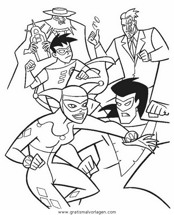 batman40 gratis malvorlage in batman comic