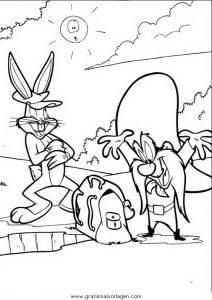 Malvorlage Bugs Bunny bugs bunny 09