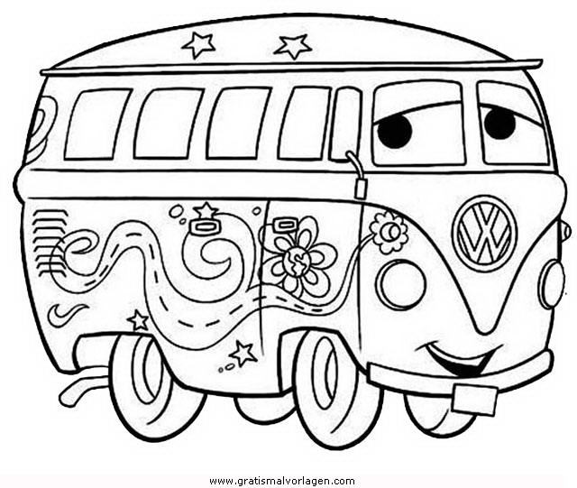 bulli1 gratis malvorlage in autos transportmittel  ausmalen