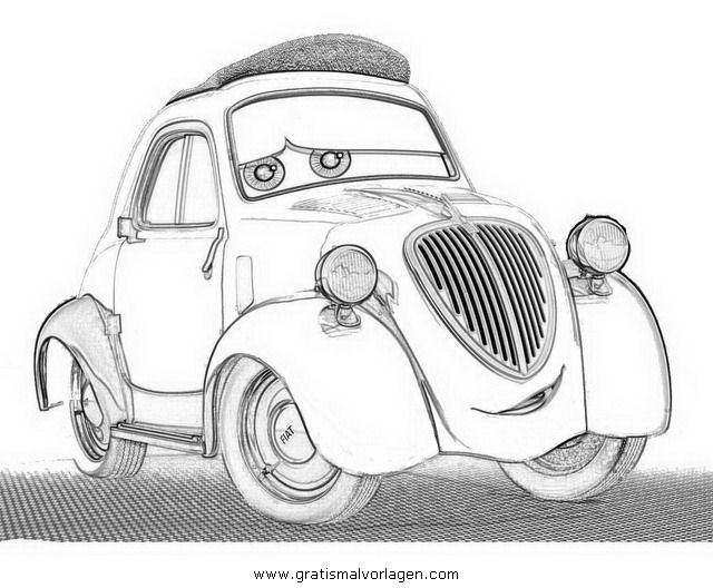 cars2 ziotopolino gratis malvorlage in cars comic