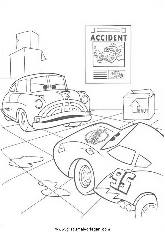cars 38 gratis malvorlage in cars comic