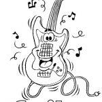 musik malvorlagen zum ausmalen für kinder