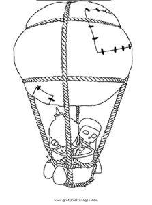 Malvorlage Clash of Clans clashofclans-balloon-001
