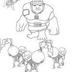 Clashofclans Mortar 001 Gratis Malvorlage In Clash Of Clans Comic