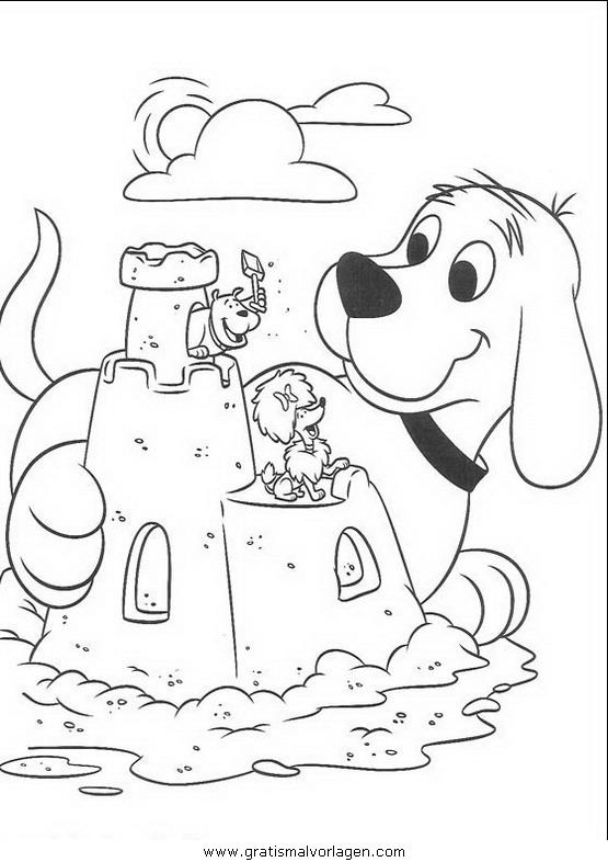 clifford der kleine rote hund06 gratis Malvorlage in Clifford, Comic ...