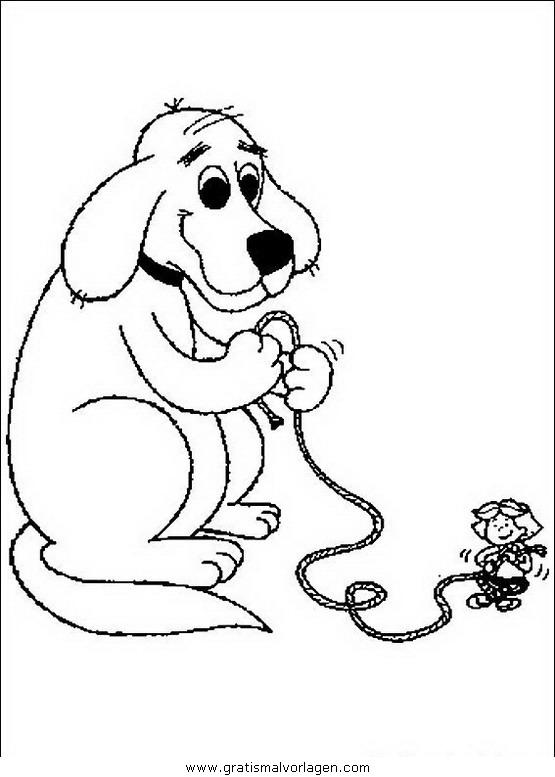 clifford der kleine rote hund31 gratis Malvorlage in Clifford, Comic ...