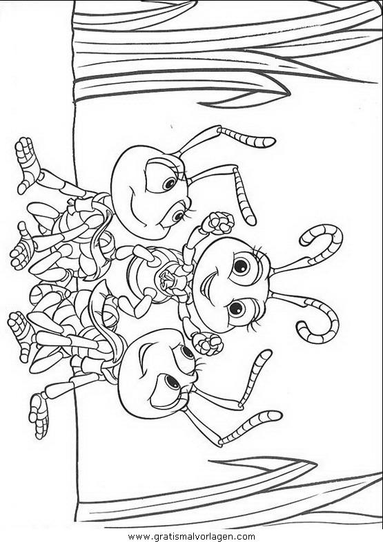 Rayman 11 Gratis Malvorlage In Comic Trickfilmfiguren: Das Grosse Krabbeln 11 Gratis Malvorlage In Bugslife