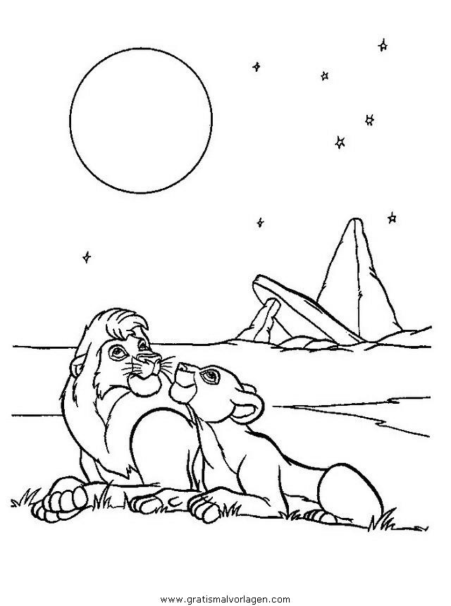 der konig der lowen31 gratis malvorlage in comic