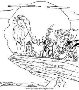 Der Konig Der Lowen42 Gratis Malvorlage In Comic Trickfilmfiguren