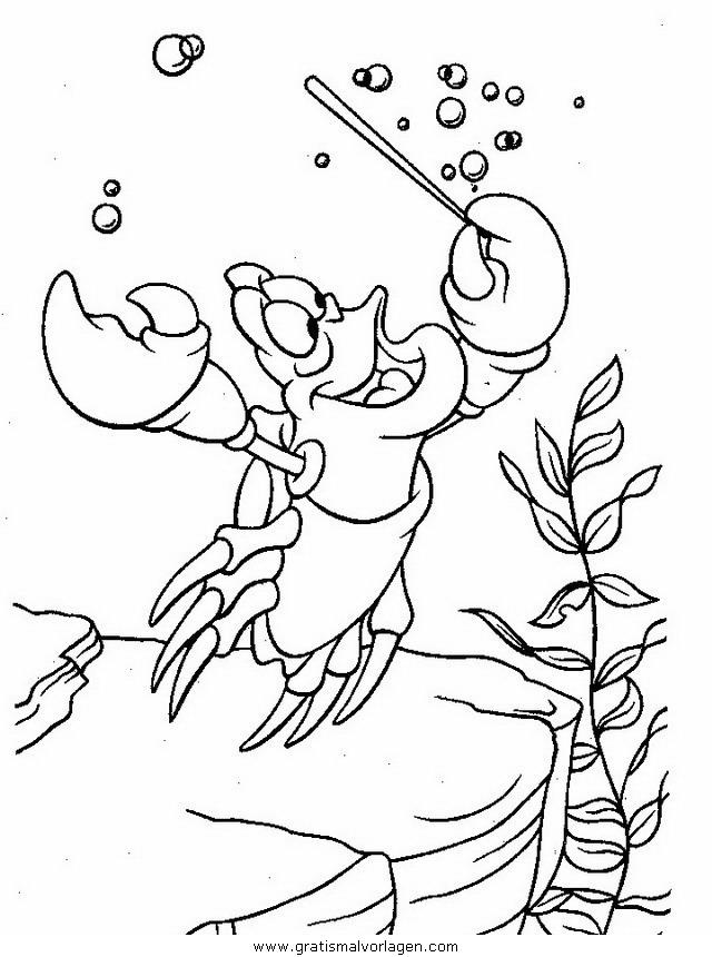 die kleine meerjungfrau67 gratis malvorlage in comic
