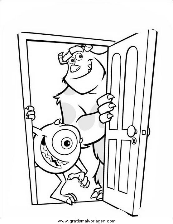 Sendung Maus 09 Gratis Malvorlage In Comic: Die Monster Ag09 Gratis Malvorlage In Comic