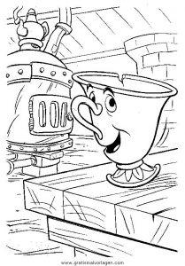 die schone und das biest09 gratis Malvorlage in Comic ...