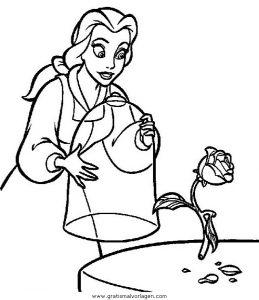 die schone und das biest34 gratis malvorlage in comic  trickfilmfiguren, die schöne und das
