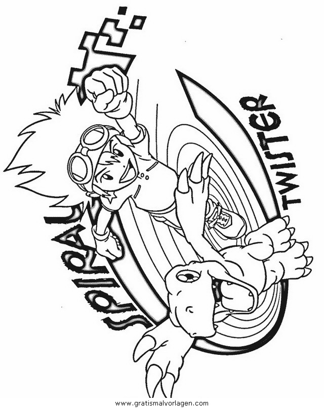 Sendung Maus 09 Gratis Malvorlage In Comic: Digimon 09 Gratis Malvorlage In Comic & Trickfilmfiguren