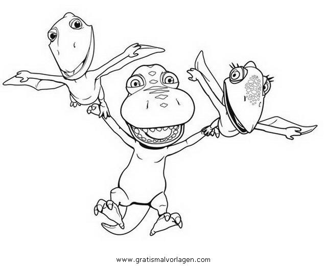 dinozugdinozug 06 gratis malvorlage in comic
