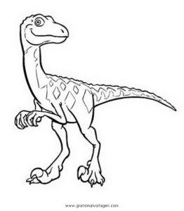 Malvorlage Dinozug dino-zug-dinozug 07