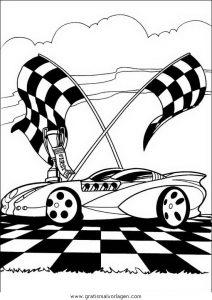 Malvorlage Hotwheels disegni hot wheels 30