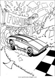 Malvorlage Hotwheels disegni hot wheels 41