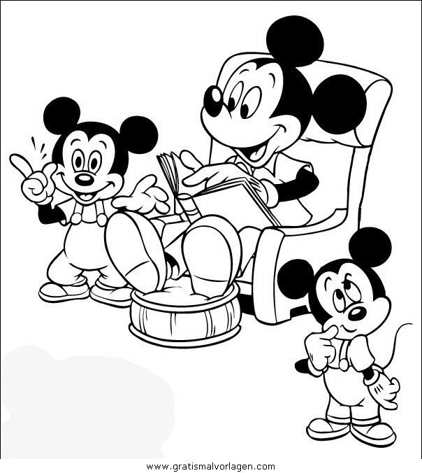 disney micky maus 018 gratis malvorlage in comic